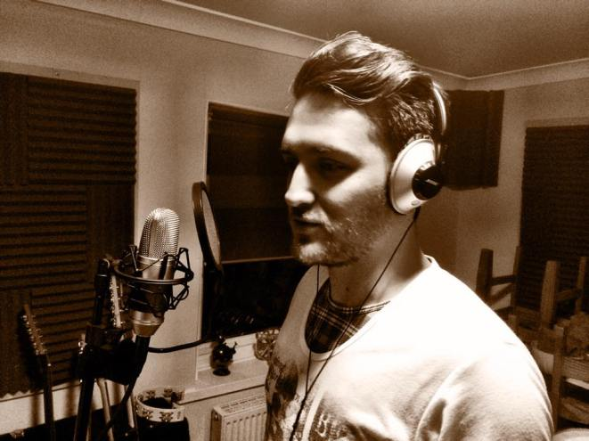 Danny adding some (terrible) vocals.