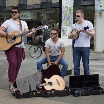 Busking in Cambridge